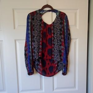 Patrons of Peace blouse